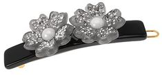 France Luxe Floral Majestic Tige Boule Barrette