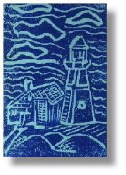 How to Make a Lino or Linoleum Block Print: Printmaking Lessons for Kids: KinderArt ®