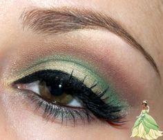 Luhivy's favorite things: Disney Series : Princess Tiana Inspired Makeup Look