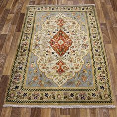 PERSIAN TRADITIONAL ANTIQUE Wool 150 X 100 CM -  5 X 3.4 FT HANDMADE CARPET RUGS Rugs On Carpet, Persian, Bohemian Rug, Traditional, Wool, Bedroom, Antiques, Classic, Handmade