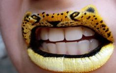 Divertidos animales pintados en los labios (Fotos) | El Espectador ...