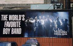 The World's Favorite Boy Band - Les Miserable's Barricade Boys.