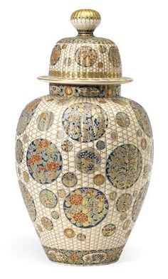 A Satsuma large vase and cover Late Edo/early Meiji period (19th century)