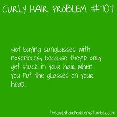 curly hair problem #707