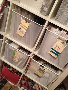 Diy paper storage ideas cabinets 60 New Ideas Scrapbook Paper Storage, Craft Paper Storage, Scrapbook Organization, Craft Organization, Diy Makeup Storage, Diy Storage, Storage Ideas, New Crafts, Paper Crafts