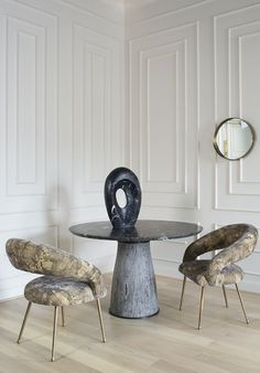 KELLY WEARSTLER | LAUREL CHAIR. Sublimely comfortable and ideal for desk or…