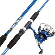 Shakespeare Tiger Spincast Rod And Reel Combo 6 6 2 Piece Walmart Com Rod And Reel Fishing Rods And Reels Fishing Rod