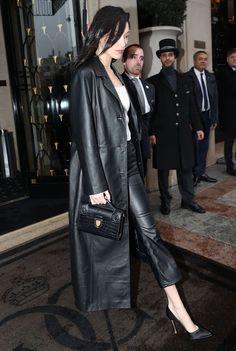 47 Best Coats jackets images | Long leather coat, Fashion