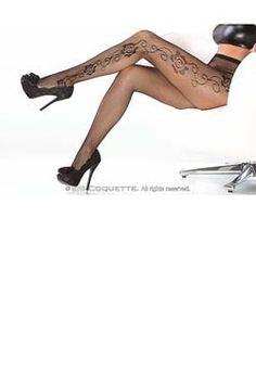 sexy Coquette Netz-Strumpfhose. Jetzt bei www.easyfunshop.net