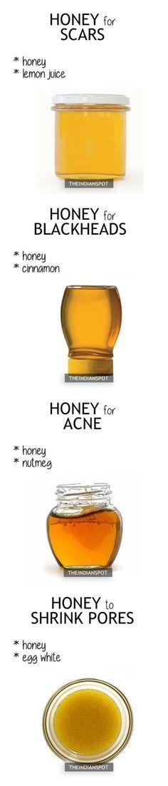Hauptmasse mit Honig
