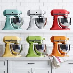 Shop Williams Sonoma for KitchenAid mixers, including professional kitchen mixers and hand mixers. Find KitchenAid mixers in a variety of colors and sizes. Kitchenaid Artisan Stand Mixer, Kitchenaid Mixer Colors, Williams Sonoma, Maisie Williams, Kitchen Aid Mixer, Kitchen Appliances, Kitchen Gadgets, Kitchens, Kitchen Sink