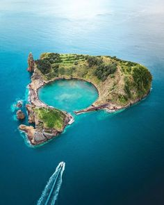 Vila Franca Do Campo Islet Portugal. The place Ive dreamed about taking a photo of for 3 years. Beautiful Places To Travel, Wonderful Places, Portugal Travel, Belle Photo, Nature Photos, How To Take Photos, Strand, Adventure Travel, Travel Inspiration