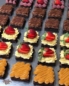 confectionery – Pastry World Mini Desserts, Just Desserts, Delicious Desserts, Bakery Recipes, Cookie Recipes, Dessert Recipes, Mini Cakes, Cupcake Cakes, Food Cakes