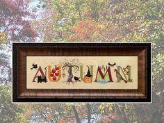 Cross Eyed Cricket: Autumn - Cross Stitch Pattern