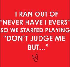 Hahahaha  #judgeme