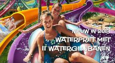 Water glijbanen feest - Eropuit