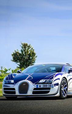 Bugatti Veyron Grand Sport L'Or Blanc #Bugatti #Veyron #1001HP#fastcar Pinterest - Sexy Sport Cars