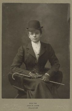 Vintage Cabinet Card of a young lady in her riding habit. ArtemesiaBlack - Ghost Stories - http://www.cdbaby.com/cd/artemesiablack1