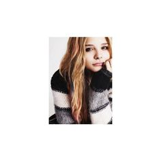 Chloë Grace Moretz ❤ liked on Polyvore featuring people, chloe and hair
