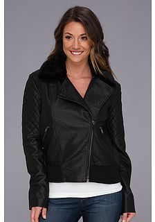 French Connection Fast Faux Leather Jet 75AXD Jacket on shopstyle.com