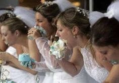 I will be having a cake eating contest at my 30th birthday party next year.