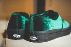 542e64146b1 BILLY S TOKYO Revamps the Vans Authentic With Luscious Velvet
