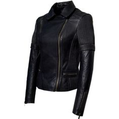 Hand Vintage Washed Corded Motorcycle Moto Women Biker Jacket ($124) ❤ liked on Polyvore featuring outerwear, jackets, black, women's clothing, genuine leather jacket, fitted jacket, lined jacket, black jacket and leather jacket