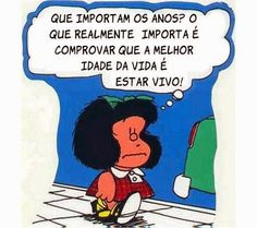 : Pensamento da Mafalda
