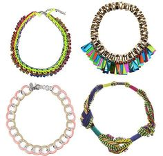Moda primavera verano 2012 : collares de Bimba & Lola