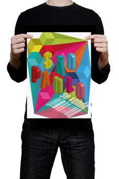 #Cartaz inspirado no trabalho do Colletivo #Design.