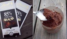 Nadýchaná čokoládová pěna ze 2 ingrediencí, po které nepřiberete