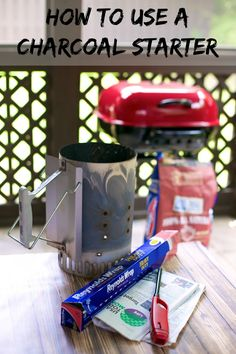 Grilling 101: How To Use A Charcoal Starter - light charcoal without lighter fluid - your tastebuds will thank you!