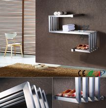 Heated Towel Rail Electric Towel Warmer <strong>Bathroom</strong> Modern <strong>Design</strong> Towel Heating Element