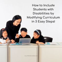 The Inclusive Class: How to Include Students with Disabilities by Modifying Curriculum in 3 Easy Steps! Autism Learning, Inclusion Classroom, Educational Programs, Special Education Teacher, Beginning Of School, Teaching Strategies, Special Needs, Disability, Curriculum