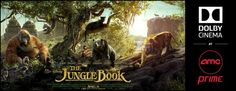 Disney's The #JungleBook Movie Ticket #Giveaway with #DolbyCinema at AMC Prime! ~ #ShareAMC