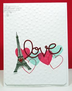 French Love by cmstamps - Cards and Paper Crafts at Splitcoaststampers