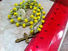 A personal favorite from my Etsy shop https://www.etsy.com/listing/181755291/childs-necklace-cross-pendant-lovely