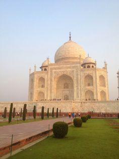 Foggy Morning in Taj Mahal, Agra India