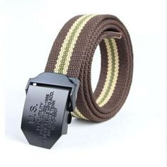 YGS-PD001 Belts 110CM Military Canvas Belt For Mens And Woman Buckle Belts Luxury Outdoor Sports Ceinture Jeans Casual Cintos