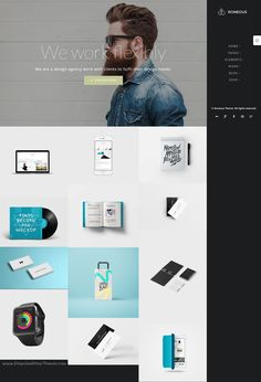 Roneous is a modern and unique 25 in 1 #WordPress Theme for #artists #designer website download now➯ https://themeforest.net/item/roneous-creative-multipurpose-wordpress-theme/16202433?ref=Datasata