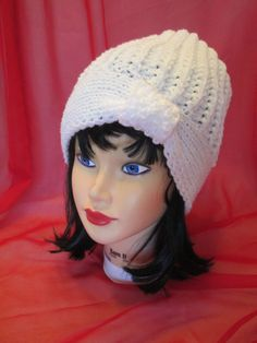 Knit Women's Hat Fall Autumn Winter Accessories by Ritaknitsall, $32.00