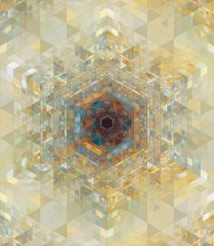 The scope of Gilmore's compositions is quite broad, which range from soothing, almost kaleidoscopic geometric designs to bold, fractal motivated loops. Geometric Patterns, Geometric Designs, Geometric Art, Art Fractal, Art Visionnaire, Mystique, Visionary Art, Art Design, Shape Design