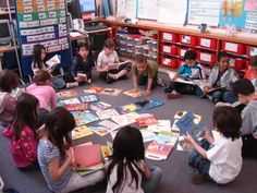 Students at Alexander Muir Gladstone, a 2008 #Indigo #LoveOfReading grant school. #IndigoLOR10
