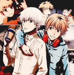 kaneki & hide: the best best friends to ever best friend