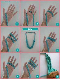 Collar de trapillo: Fotos de diseños (19/20) | Ellahoy