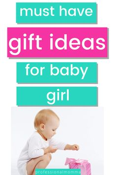 Looking for gift ideas for baby girl? Here are 50 must have gifts baby girl will love. There is truly something for ever type of child and mom from developmental toys to the toys that focus on fun. You can use this gift guide for both Christmas gift ideas and birthday gift ideas. Working Mom Tips, Non Toy Gifts, Advice For New Moms, Pregnancy Advice, Thing 1, Toddler Travel, Developmental Toys, Kids Sleep, 1 Year Olds