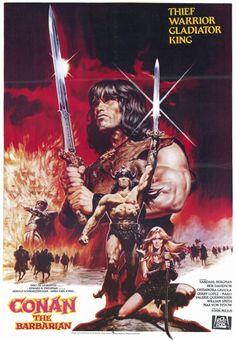 Para vingar a morte de seus pais, Conan (Arnold Schwarzenegger) enfrenta um perigoso feiticeiro em busca da liga de aço, que fará com que sua espada se torne invencível.