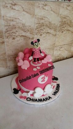 Minnie Mouse cake by Chihavillah cakes