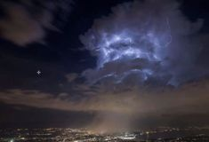 """THESE incredible photos taken above CERN's Large Hadron Collider (LHC) have provoked dramatic conspiracy theories and stoked fears that """"new portals"""" are b"""