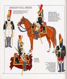 French; Imperial Guard, Dragoon(The Empress' Dragoons) Regt, Dragoons, Full Dress